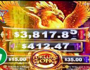 ⭐️ New — Fortune Gong Phoenix slot machine, 2 sessions, bonus