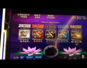 ** SUPER BIG WIN ** 5 Koi max bet bonus with Re-trigger ** SLOT LOVER **