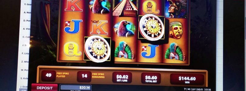 Montezuma HUGE win online slots 888 casino NJ Part 1