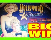 HOLLYWOOD DREAMS — BIG WIN — MAX BET Slot Machine Bonus
