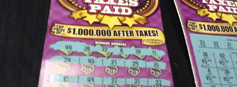 Awesome, big win $1M Taxes Paid California Lottery