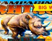 GREAT SESSION! Rampaging Rhino Slot — BIG WIN BONUS!