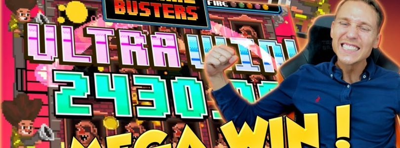 BIG WIN!!! Flame Busters Huge Win — Casino Games — free spins (Online Casino)