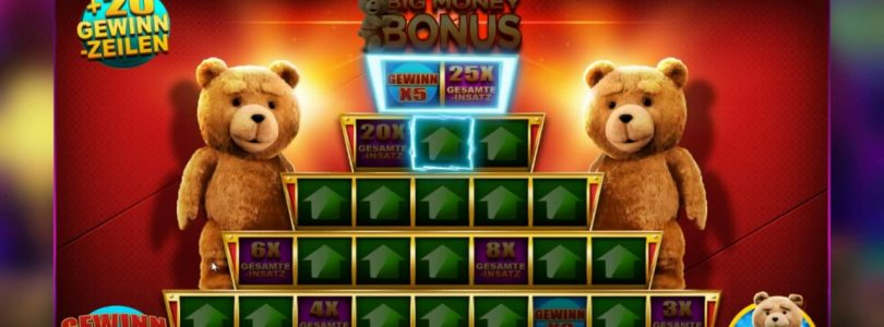 Ted Slot Machnie BIG WIN !! | 300x+ | BIG MONEY BONUS | 75+ Wilds