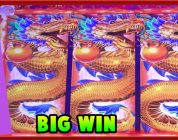 First Look on Konami Dragon Domination Big Win at Max Bet n others by Slot Lover