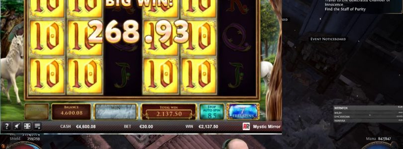 Mystic Mirror!! Max Bet Big Win!!