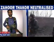 Big win for forces in Pulwama, Zahoor Thakor killed