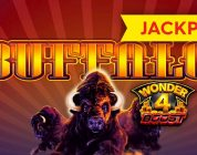 JACKPOT HANDPAY! Wonder 4 Boost Buffalo Slot — $16 MAX BET!