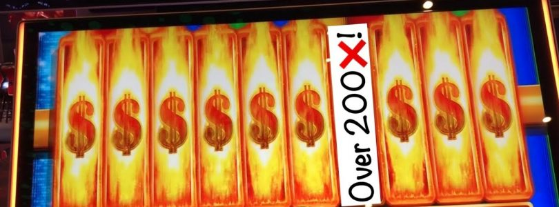 A Huge win on a nemesis slot! Spin it Grand and Wonder 4 Jackpots
