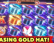 ⭐️HOLD ONTO YOUR HAT BIG WIN⭐️CHASING THE GOLD HATS $3 BET SLOT BONUS SESSION