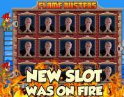Online Slot — Flame Busters Big Win and bonus round (Casino Slots)