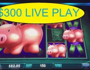 PIGGY BANKIN $300 INTO BIG WIN! VIEWERS REQUEST!
