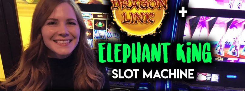 HUGE WIN! First time Trying ELEPHANT KING! MAX BET! BONUSES!!!