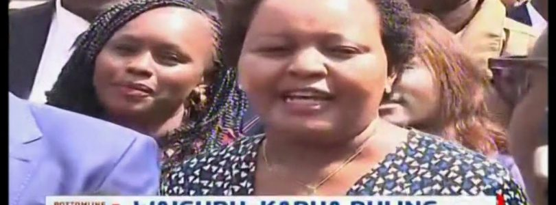 Big win for Governor Waiguru as Appellate Court dismisses Karua's case