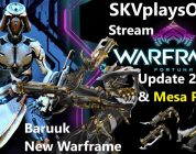 SKVplaysON — WARFRAME Fortuna Update 2.0 & Mesa Prime & More!, Stream, PC [English] Game Play