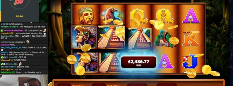 HUGE WIN on Montezuma Slot — £6 Bet!