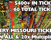 PROFIT!! — BIG WINS!!! — EVERY SCRATCHER IN MO LOTTO! — $400+ IN TICKETS — PROFIT!!