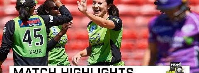 Haynes powers Thunder to big win | Rebel WBBL|04