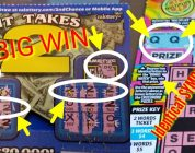 BIG WIN & Identical Symbols New CA scratchers