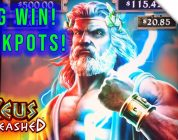 MEGA JACKPOT!! ZEUS UNLEASHED Super Big Win!!! Rare 2x Free Games