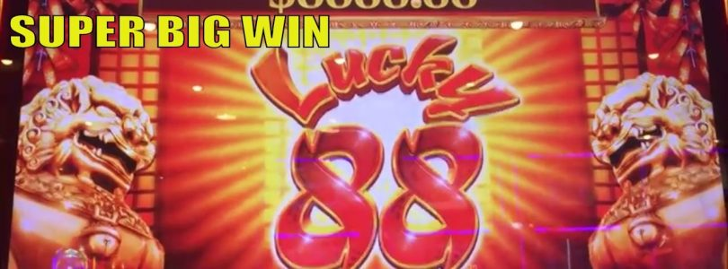 ★SUPER MEGA BIG WIN☆All about New Lucky 88 Slot machine☆Dice /Mystery choice/4 Free games picked ★彡