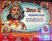 Short clip of Big Win on Zeus II at Rivers Casino