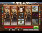Katana Slot — Mega Big Win Bonus at D-Best Casino