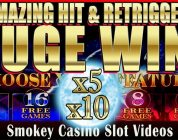 Insane HUGE Win! TIMBERWOLF SLOT MACHINE — With Amazing Retrigger!
