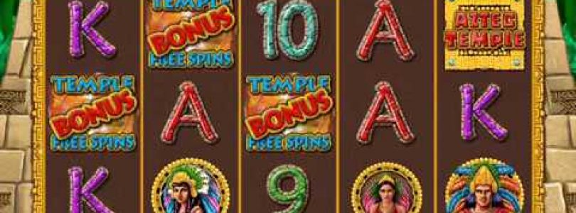 AZTEC TEMPLE Video Slot Casino Game with a «BIG WIN» FREE SPIN BONUS