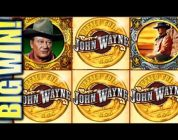 ★BIG WIN! SPINNING STREAK★ JOHN WAYNE & OUTBACK JACK ADVENTURES IN THE BUSH Slot Machine