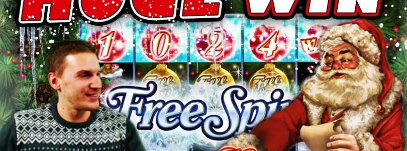 Happy Holidays Slot: HOT MODE!! HUGE WIN! — £4.20 Bet