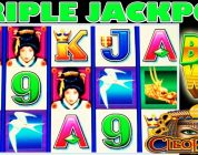 ★ BIG WINS TRIPLE JACKPOT HANDPAY ★ I LOVE GEISHA ★ HIGH LIMIT SLOT MACHINE BONUS ★