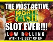 OMG!!! The Most Active MIGHTY CASH Slot Machine Casino Game Bonus EVER!!! BIG WIN!!! (San Manuel)