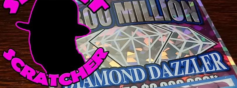 MUST SEE BIG WIN on the Book of $20 Diamond Dazzlers from the Ohio Lottery