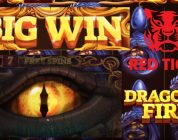 Amazing Bonus Big Win on Dragons Fire Slot from Red Tiger