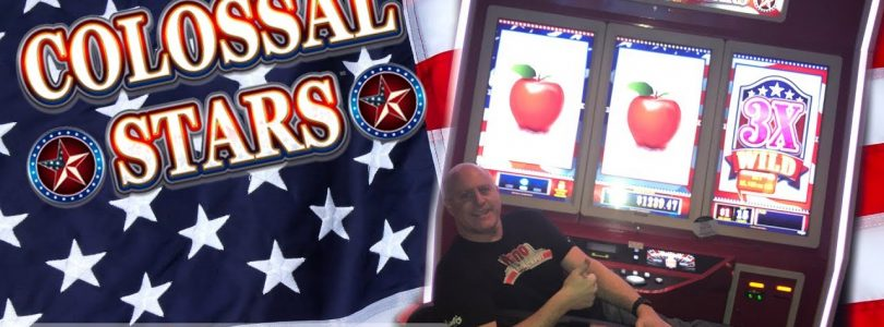 ✦ MAX BET! ✦The BIGGEST Slot Machine I Could Find! ⭐ Colossal Stars ⭐| The Big Jackpot
