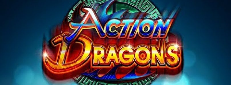 *Action Dragons* *3x 3 Lucky Multiplier Triggered!* *Max Bet* *Big Win*