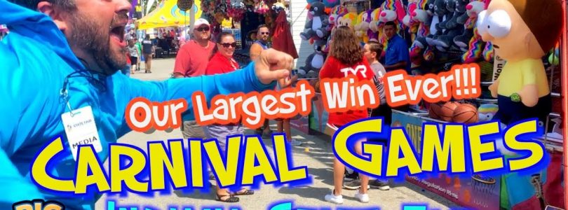 Episode 16: «Our Largest Win Ever!!!» Carnival Games, Indiana State Fair — Big Wins! Arcade Show