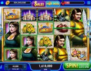 LANCELOT Video Slot Casino Game with a «BIG WIN» FREE SPIN BONUS