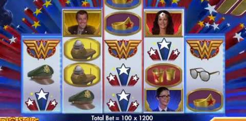WONDER WOMAN Video Slot Casino Game with a «BIG WIN» PICK BONUS