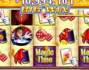 MAGIC TIME Video Slot Casino Game with a «BIG WIN» FREE SPIN BONUS