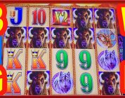 ** BIG WIN ON WONDER 4 BUFFALO GOLD ** SLOT LOVER **