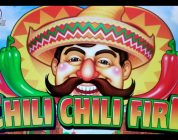 BIG WINS!  CHILI CHILI FIRE SLOT MACHINE by KONAMI  PALA CASINO