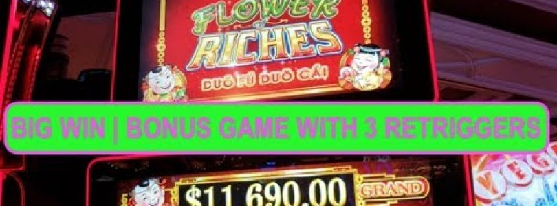 Big Win | Flower Riches | Multiple Bonus Games | Duo Fu Duo Cai | Max Bet Slot Action