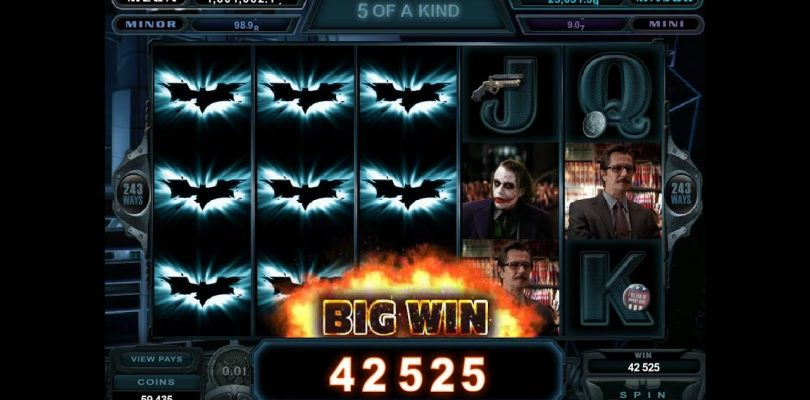 Big Win Batman Slot Casino machine jackpot