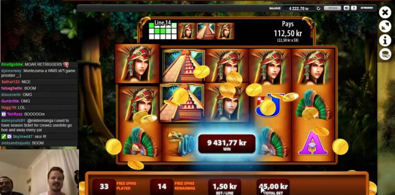 Montezuma — mega big win in the bonus game