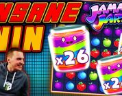 INSANE WIN on Jammin Jars' Slot — £4 Bet