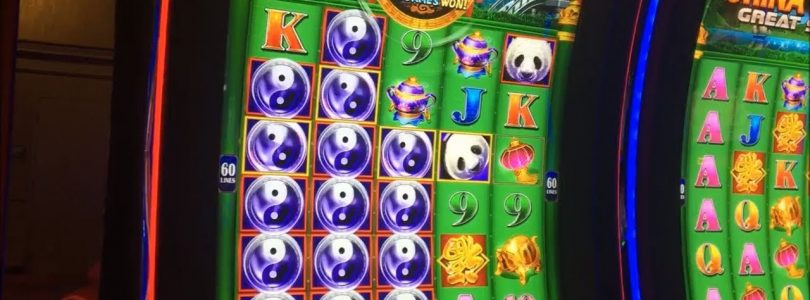 BIG WIN — China Shores Great Stacks Slot Machine Bonus — 350 Spins!