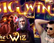 SUPER BIG WIN on New Slot THE WIZ!!