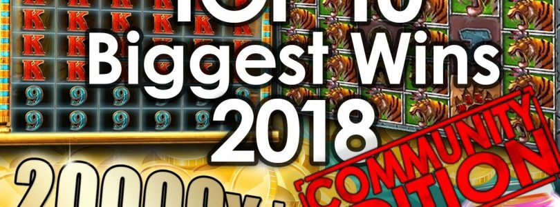 Top 10 — Biggest Wins of 2018 (Community Edition)